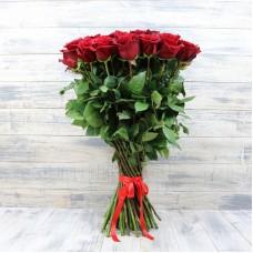Букет красных роз (эквадор)