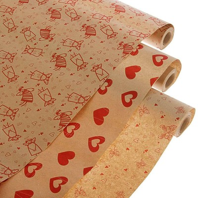 Упаковка бумага  крафт