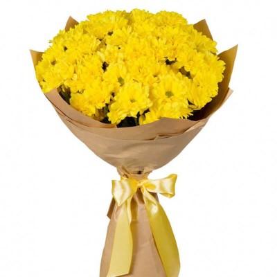 Кустовые хризантемы 7 шт